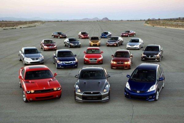 Список производителей автомобилей