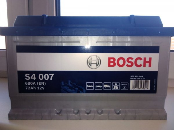 Bosch Silver S4007