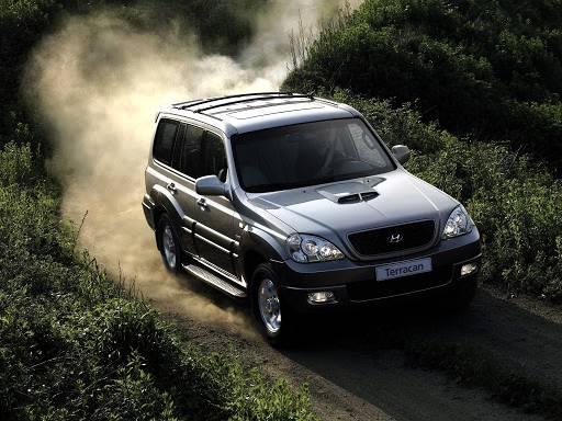 Вывод в выборе Hyundai Terracan
