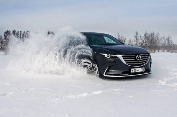 Средний расход топлива Mazda cx9
