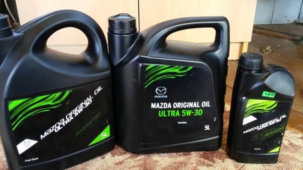 Какое масло заливать в двигатель Mazda cx9