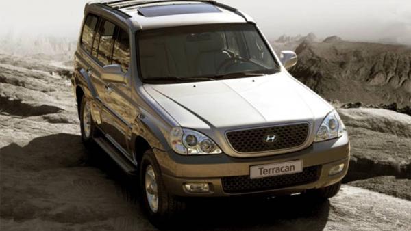 Hyundai Terracan внедорожник