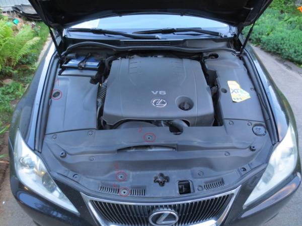 Типичные проблемы Lexus IS-250