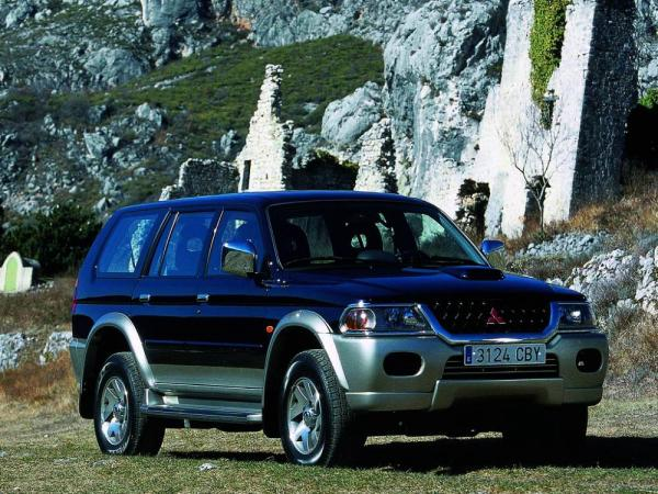 Первое поколение Mitsubishi Montero