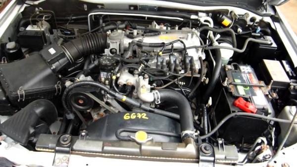 Mitsubishi Montero двигатель