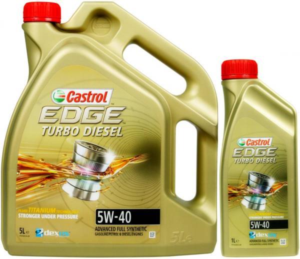Castrol EDGE Turbo Diesel 5W40